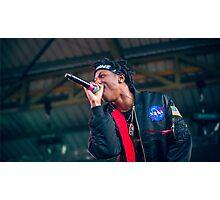 Joey Bada$$ at Falls Festival Photographic Print