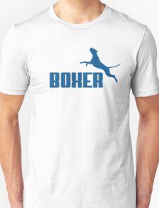 Boxer (blue) Unisex T-Shirt