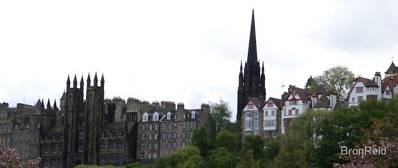 Ramsay Garden, The Mound, Edinburgh by BronReid