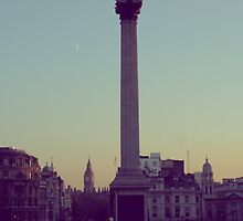 London Evening by CherryCassette