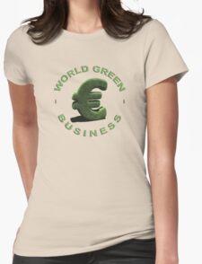 World Green Business Womens Fitted T-Shirt