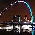 Millennium Bridge, Gateshead by Mike Paget