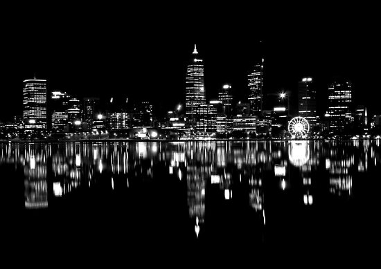 perth nightscape by aa2bo