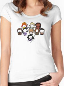 Hello Shiny Women's Fitted Scoop T-Shirt