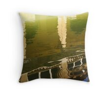 Roman Reflection Throw Pillow