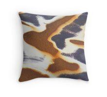 Giraffe skin. Throw Pillow