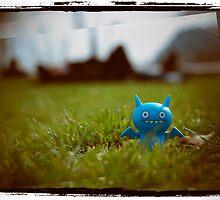 Blue evil by bertadp