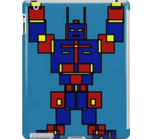 Retro Me Robot iPad Case/Skin
