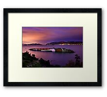 Sweet dreams for an old ship Framed Print