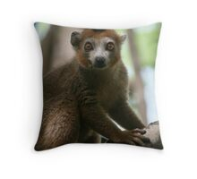 cherub of the forest Throw Pillow