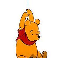winnie the pooh phone case  by wonderlanddani