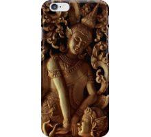 Buddhist Wood Carvings - Vientiane, Laos. iPhone Case/Skin