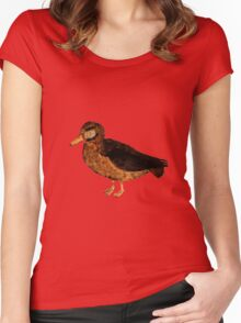A Duck Women's Fitted Scoop T-Shirt