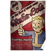 Nuka Cola (Vault Boy) Poster