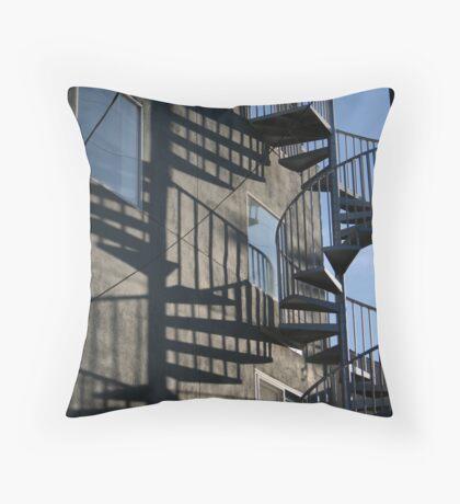 Stair Shadows Throw Pillow