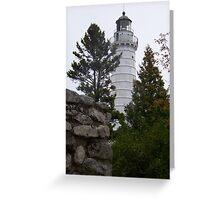 Cana Island Lighthouse Greeting Card