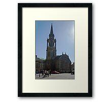 Tron Kirk Framed Print