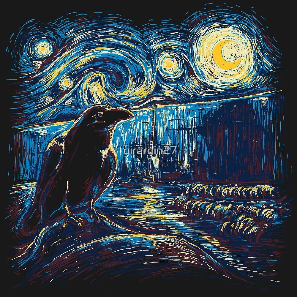 Starry Night's Watch by girardin27