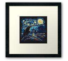 Starry Night's Watch Framed Print