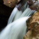 La Poza del Cajon, running waters  by Guy Tschiderer