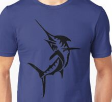 Swordfish, Fishing Silhouette Unisex T-Shirt