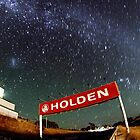 Holden and the stars by Ian Tester
