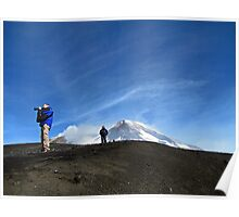 Open Skies On Mt. Etna - Catania, Sicily Poster