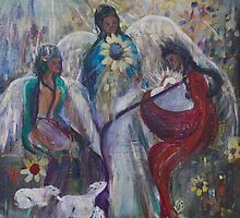 The Nativity of Angels  by Nola Lee Kelsey
