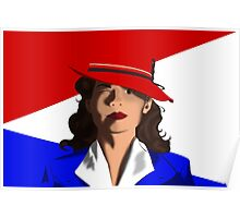 Agent Peggy Carter Poster
