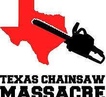 Texas Chainsaw Massacre, Minimalist Design Quote by tshirtdesign