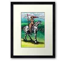 Warrior Princess Framed Print
