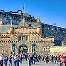 Edinburgh Castle Gatehouse by Tom Gomez