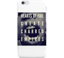 Charred Empire Functional Picket Sign Series iPhone Case/Skin
