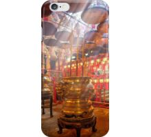 Man Mo Temple iPhone Case/Skin