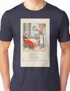 Mother Goose or the Old Nursery Rhymes by Kate Greenaway 1881 0029 Polly Put the Kettle on Unisex T-Shirt
