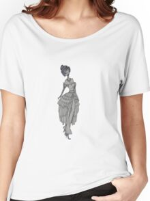 fashion sketch Women's Relaxed Fit T-Shirt