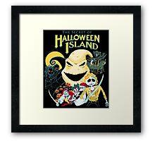 The Secret of Halloween Island Framed Print