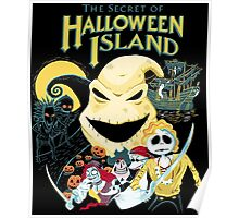 The Secret of Halloween Island Poster