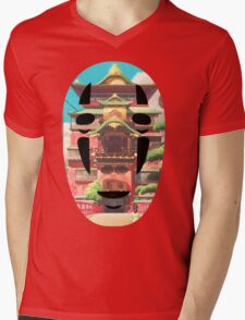 No Face - Bath-house  Mens V-Neck T-Shirt