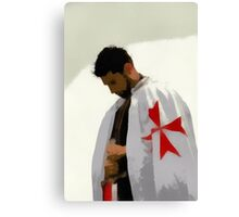 Knights Templar by Pierre Blanchard Canvas Print