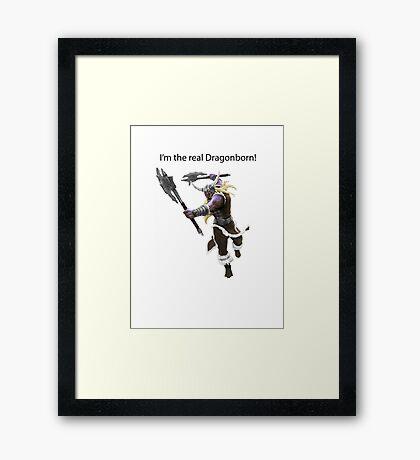 Olaf The DragonBorn Framed Print