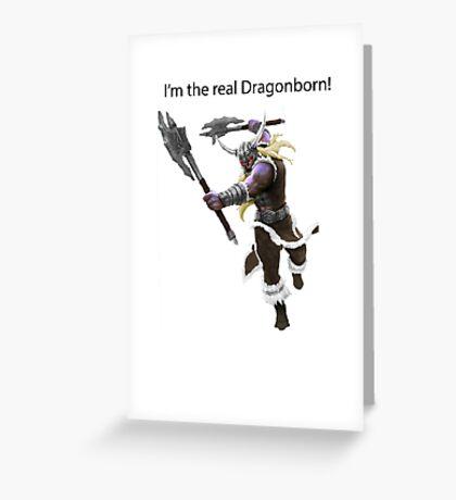 Olaf The DragonBorn Greeting Card