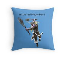 Olaf The DragonBorn Throw Pillow