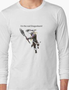 Olaf The DragonBorn Long Sleeve T-Shirt