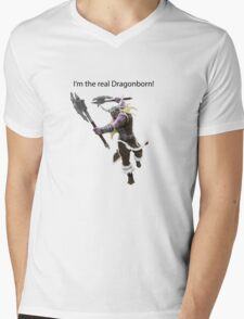 Olaf The DragonBorn Mens V-Neck T-Shirt
