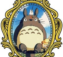 Totoro vintage frame! by NomadSenpai