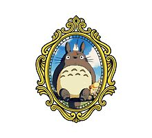 Totoro vintage frame! Photographic Print