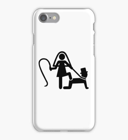 Wedding slave iPhone Case/Skin