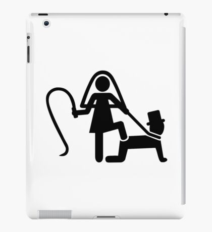 Wedding slave iPad Case/Skin