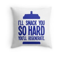 Doctor Who - Clara Oswald Quote #1 Throw Pillow